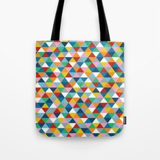 Triangles of Colour Tote Bag