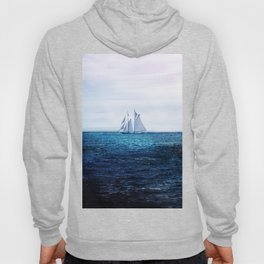 Sailing Ship on the Sea Hoody