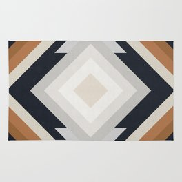 Geometric Art with Bands 04 Rug