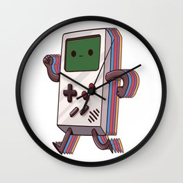 Old Gaming Device Handheld Game Consoles Wall Clock