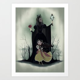 Snow White - Poster Art Print