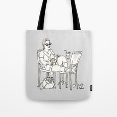 Sci Fi Afternoon Tote Bag