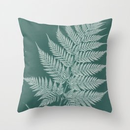 Naturalist Fern Throw Pillow