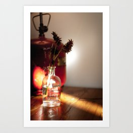 Ray of light Art Print