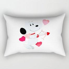 Snoopy cupid Rectangular Pillow