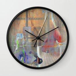 Uncertain Tea Wall Clock