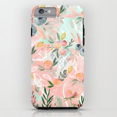 Abstract painting of flowers and plants Tough Case iPhone 6