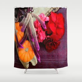 Bloody, Creepy, October-feast For The Eyes Shower Curtain