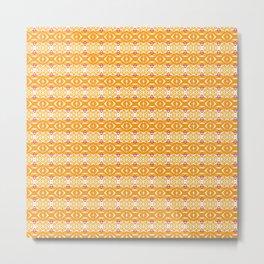 Color of Summer: Orange Metal Print