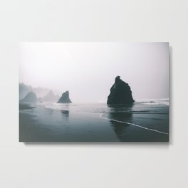 Ruby Beach Metal Print