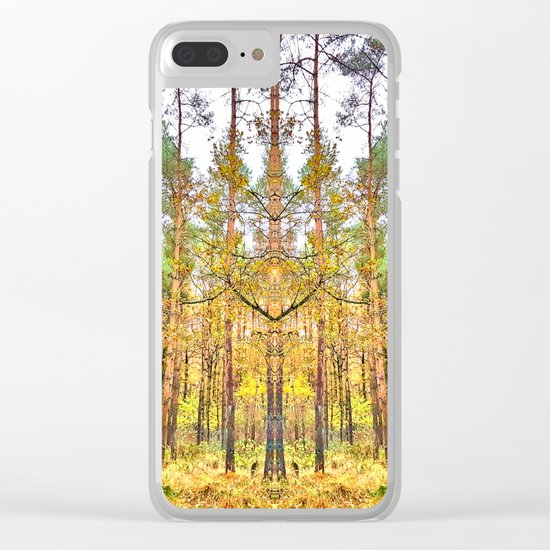Guardian of the Woods Clear iPhone Case