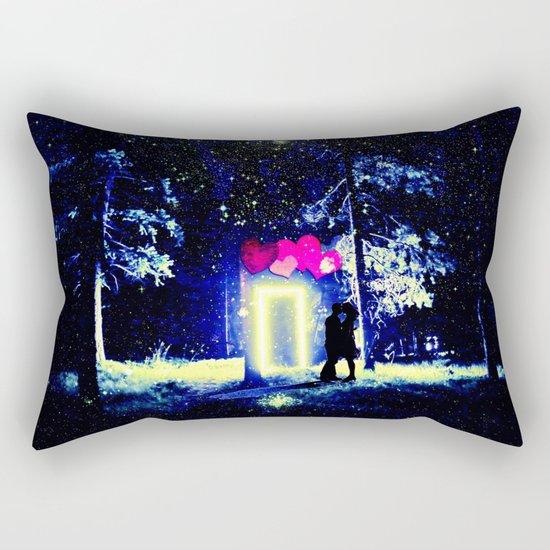 Love in the Dark Rectangular Pillow