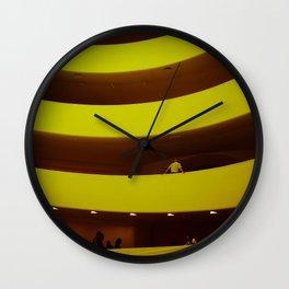museum curves Wall Clock