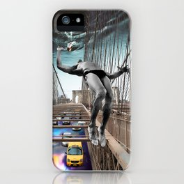 Jumping to conclusions iPhone Case