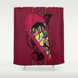 Do You Scream? Shower Curtain