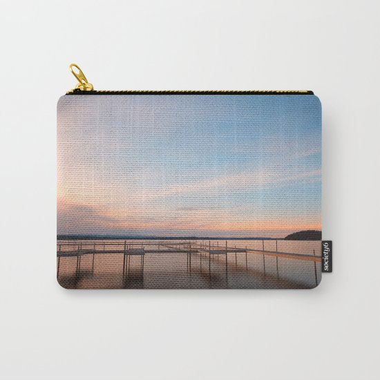 Saratoga Lake Sunset Carry-All Pouch
