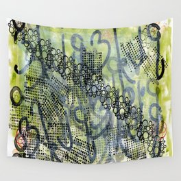 You wear your poetry on your sleeve Wall Tapestry