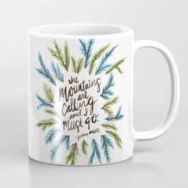 Mountains Calling Coffee Mug