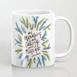 Mountains Calling Coffee Mug