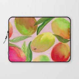 Mango Watercolor Painting Laptop Sleeve