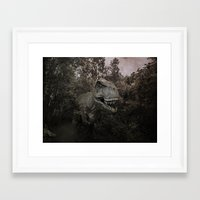 dinosaurs Framed Art Prints featuring Dinosaurs by TaLins