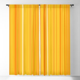 Stripe obsession color mode #8 Blackout Curtain