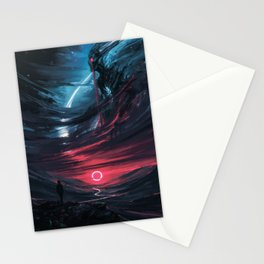 the Omen Stationery Cards