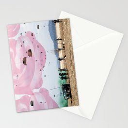 parachute rose Stationery Cards