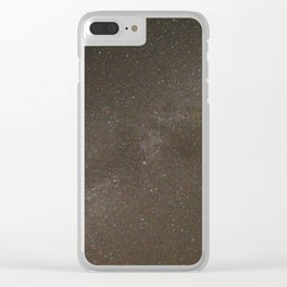 Star Dust under the Milky Way Clear iPhone Case