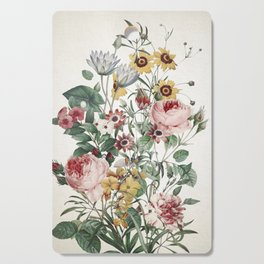 Romantic Garden Cutting Board