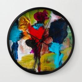Nevada Team - Abstract Contemporary figure Wall Clock