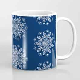 RB Mandala Design with botanical elements Coffee Mug