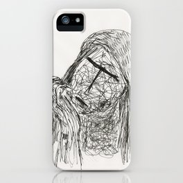 tribute to Jane Merrow by Tade Garben iPhone Case