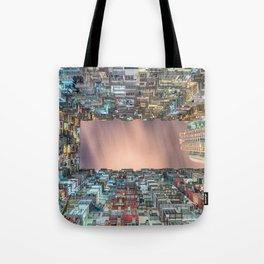 Hong Kong architecture Tote Bag