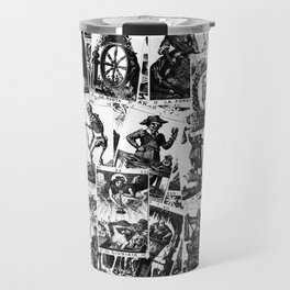 Tarot cards pattern Travel Mug