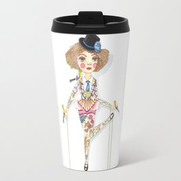 Circus birds Travel Mug