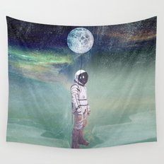 Moon Balloon Wall Tapestry