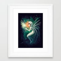 contact Framed Art Prints featuring Contact by Freeminds