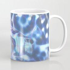 Blue space wreck Mug