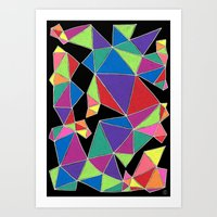 Colorwheel - Connected Series - #0816 Art Print