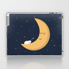 The Cat and the Moon Laptop & iPad Skin