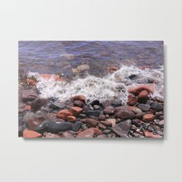 Lake Superior North Shore Metal Print