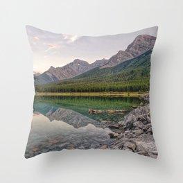 Reflecting on Stillness Throw Pillow