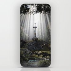 Master Sword in Ruins (Breath of the Wild) iPhone & iPod Skin