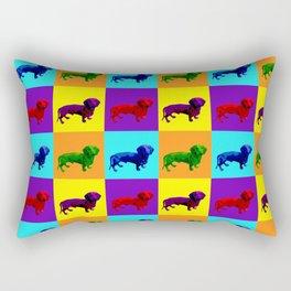 Wonder Wieners by Crow Creek Cool Rectangular Pillow