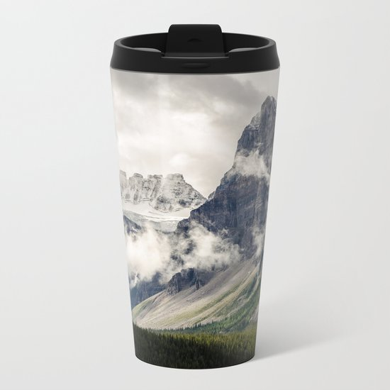 Mountain Breeze Metal Travel Mug