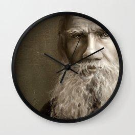 Lev Tolstoy Wall Clock