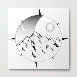 Mountain Adventure Metal Print