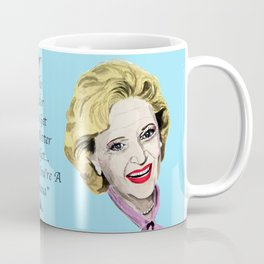 Rose Nylund from the Golden Girls (Blue) Coffee Mug