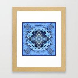 Future Insights Mandala Portal Framed Art Print